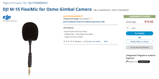 FAQs For How To Get Your Free Osmo FlexiMic | DJI FORUM