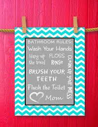 Chevron Print Bathroom Decor by 101 Best Kids Bathroom Images On Pinterest Bathroom Ideas Kid
