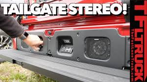100 Best Truck Speakers Surprising News First Ever Tailgate Revealed New 2019 GMC