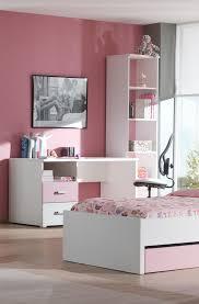 bureau chambre fille bureau contemporain 2 tiroirs blanc et eglantine bureau