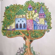 Secret Forest Coloring Pages