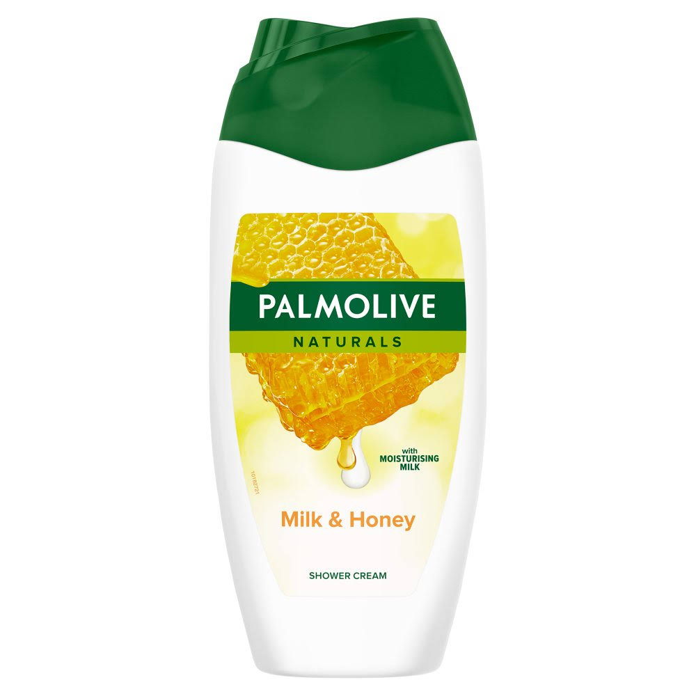 Palmolive Naturals Shower Cream - Milk and Honey, 250ml