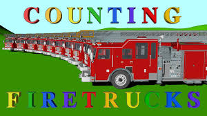 100 Fire Trucks Youtube Learning For Kids Youtube Preschool Channel Teaches Counting