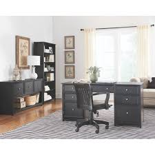 Sauder Edge Water Executive Desk by Home Decorators Collection Oxford Black Desk 0151200210 The Home
