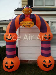 Halloween Inflatable Spider Archway by Halloween Funny Party Decoration Inflatable Pumpkin Archway For