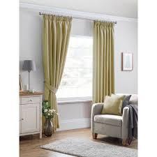 brambly cottage travolta pliegue de lápiz semi pura cortina