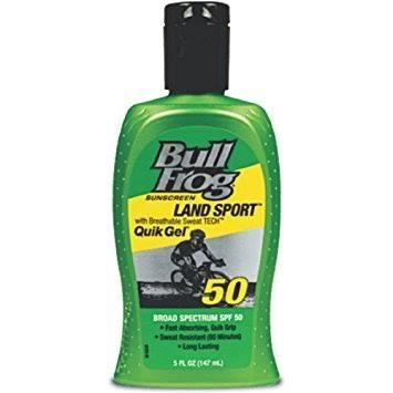 Bull Frog Water Armor Sport Quick Gel Sunscreen - Spf50, 5oz