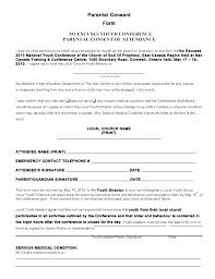 Child Medical Consent Form Template Release Templates Lab Hospital Sample For