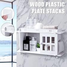 badezimmer kosmetik regal bad lagerregal organizer papierrollenhalter küche