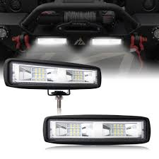 6 Inch 40W Mini LED Work Light Bar Single Row For Offroad Trucks 4WD ... Best Led Light Bar 2018 Buyers Guide Updated Mtain Your Ride Baja Designs 447588 Chevrolet Silverado Grille Mount Hightech Truck Lighting Rigid Industries Adapt Recoil Bars For Trucks Offroad Sale Trex Ford Super Duty Torchal Series Main Replacement Aci Lights Value Off Road 42018 Toyota Tundra Hood Knight Rider Kit Adapt 250413 Nelson Lightbar Vehicles Fixed Amber Warning Onx6 Arc Curved The Roofmounted Is Cab Visors Cousin Drive