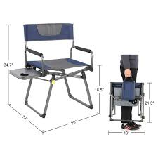 PORTAL Compact Folding Directors Chair Heavy Duty Folding Chair Padded With  Carry Strap, Side Table And Armrest,Supports 300 Lbs 8 Best Heavy Duty Camping Chairs Reviewed In Detail Nov 2019 Professional Make Up Chair Directors Makeup Model 68xltt Tall Directors Chair Alpha Camp Folding Oversized Natural Instinct Platinum Director With Pocket Filmcraft Pro Series 30 Black With Canvas For Easy Activity Green Table Deluxe Deck Chairheavy High Back Side By Pacific Imports For A Person 5 Heavyduty Options Compact C 28 Images New Outdoor