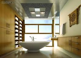 Classy Idea Bathroom Ceiling Design 7 Picture On Stylish Home ... Bathroom Tile Idea Use The Same On Floors And Walls Great Blue Lighting False Ceiling Designs With Fan Creamy 30 Awesome Diy Stenciled Ceilings That Exude Luxury With Pictures Best 50 Pop Design For Roof Zacharykristen Curtains Ideas Coolwer Curtain Small Bold For Bathrooms Decor Home Pictures Depot Panels Trim Lights 3203 25 Tile Ideas Small Bathrooms And How To Remove Mold Anti Attic Rooms 21 Ways To Capitalize On Your Top Floor Bob Vila Inspiring 20 Basement Budget Check