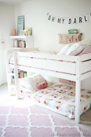 Bright And Happy Shared Girls Room Love The Quilts