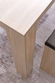 kadima design moderner esszimmer set sonoma eiche esstisch