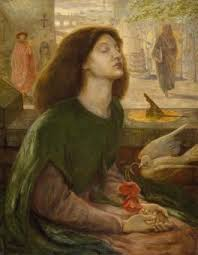 Literature Especially Poetry Was Very Important To The Pre Raphaelites Who Drew Up A List Of Immortals Which Included Many Poets