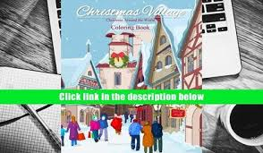 Download PDF Christmas Around The World Coloring Book Village For