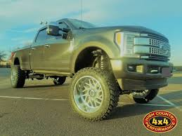 100 Custom Truck Wheels 4x4 2017 FORD F350 PLATINUM METALLIC