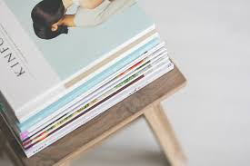 Stack Of Magazines Free Stock Photo
