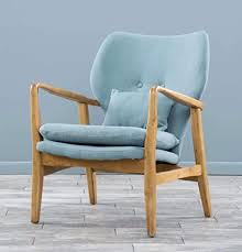 de vintage dänischer sessel retro stoff modernes