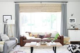 Brown Couch Living Room Colors by Featured How To Style A Brown Sofa U2014 Self Styled