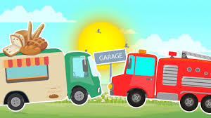 Umi Uzi | Bakery Truck Garage | Kids Car Videos | Kids Learning ...