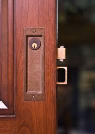 Locking Barn Door