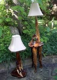 Make Cypress Knee Lamps by Home