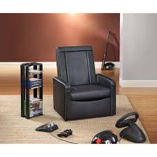 Video Gaming Chair With Footrest by Video Rocker Storage Gaming Ottoman Multiple Colors Walmart Com