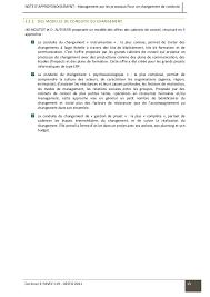 cabinet de conseil conduite du changement management par les processus un pas vers le changement de conduite