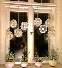 fenster ringe alte fenster dekorieren coole vorhänge