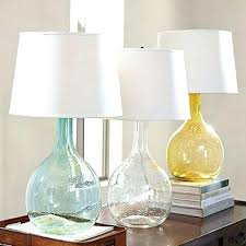 Fillable Glass Lamp Base Uk by Table Lamp Clift Glass Table Lamp Base Green Pacific Shores