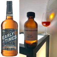 Review 550 Early Times Bottled in Bond bourbon