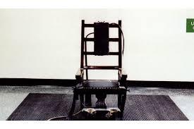 la chaise electrique un américain choisit de mourir sur la chaise électrique