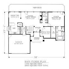 Blueprints House House 5927 Blueprint Details Floor Plans