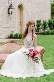 Pink Rustic Garden Inspired Wedding Ideas