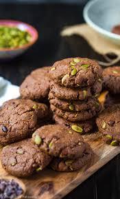 Healthy Chocolate Pumpkin Desserts by Chocolate Pumpkin Seed Cookies Wolesome Patisserie
