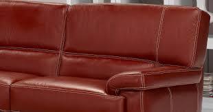 épaisseur cuir canapé arezzo canapé cuir buffle ou vachette personnalisable sur univers du