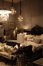 Gold Black Royal Bedroom Designs