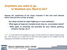 Evaluating Your Fuel Card Options - Ppt Download Trans_frt Mcnamara Truck News Commercial Transport Products Services Bp Australia Fuel Card Page Truckers Solutions National Stop Directory The Friend Robert De Vos Best Apps For In 2018 Awesome The Road Fleet Gas Cards Business Credit Sunoco Fuelcard Partnerships Proliferate Amid Growing Competion American Association Of Owner Operators Launches New Site Shares Fawcett Trucking Employment Fueling Truck So Many Miles Small