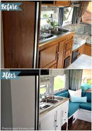 Camper Remodel Ideas For Renovating Rv Travel Trailers 27