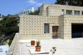 100 Frank Lloyd Wright Textile Block Houses And Buildings In Los Angeles