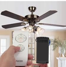 Hunter Ceiling Fan Remote Troubleshooting by Ceiling Fans With Lights Hampton Bay Umber 46 In Oil Rubbed