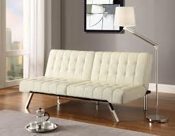 Flip Sofa Bed Target by Furniture Fabulous Faux Leather Futon For Living Room Decor