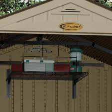 Suncast Alpine Shed Extension by All Your Storage Needs At Storage Sheds Direct 1800 419 7739