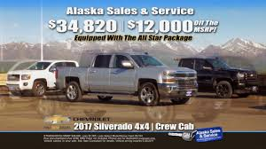 2017 Chevy Silverado Up To $12,000 Off MSRP At Alaska Sales ... Chevrolet Car Truck Dealer Near Palmer Ak Lithia Kia Of Anchorage Vehicles For Sale In 99503 Coinental Volvo Cars Dealership In Alaska Used 2017 Silverado 1500 Sale Listing 10031 Skiff Circle Mls 1720198 Chevy Up To 12000 Off Msrp At Sales Supersale Walmart On Debarr Hyundai New Trucks For South Certified Preowned Suvs Lexus Park Sell America 900 E Dowling Rd 99518 2gtek19t331114070 2003 Black Gmc New Sierra Simmering Teions Over Food Trucks Daily News