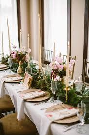 Elegant Woodsy Wedding With Pops Of Burgundy