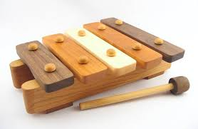 eco friendly wooden xylophone for musical fun inhabitots
