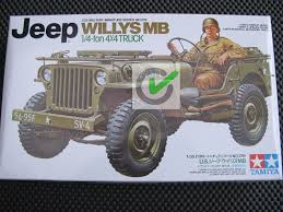 Jual Model Kit / Mokit Tamiya - US Jeep Willys MB 4x4 Truck + 1 ...