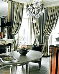 Grey And Gold Curtains Designer Blackout Curtain With Geometric