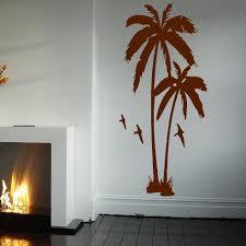 HUGE PALM TREE HALL BEDROOM WALL ART MURAL GIANT GRAPHIC STICKER MATT VINYL WALLPAPER DECALS In Wall Stickers From Home Garden On Aliexpress